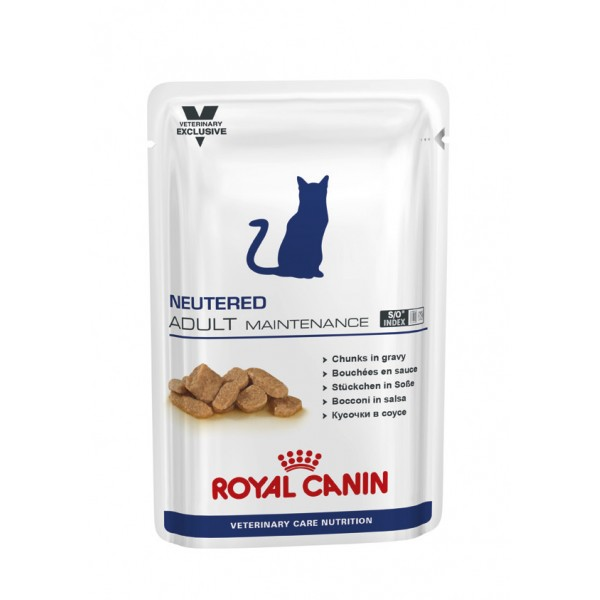 Royal Canin Veterinary Diet (Feline) - Neutered Adult Maintenance 100g