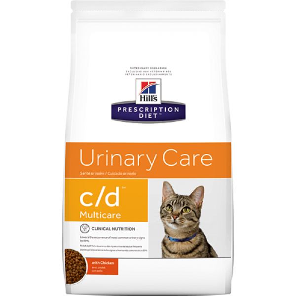 Hill's Prescription Diet (Feline) - c/d Multicare