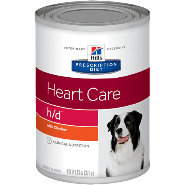 Hill's Prescription Diet (Canine) -  h/d Heart Care Canned 13oz