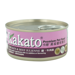 (Dogs & Cats) Kakato - Chicken & Beef Julienne 70g-170g
