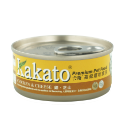 (Dogs & Cats) Kakato - Chicken & Cheese 70g /170g