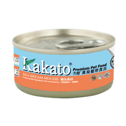 (Dogs & Cats) Kakato -  Sea Bream Mousse 70g